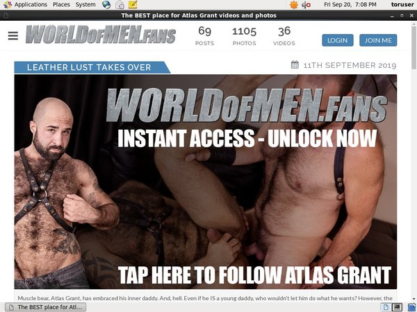 Pay For World Of Men Fans - Atlas Grant